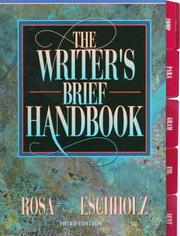 Cover of: The writer's brief handbook