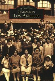 Cover of: Italians in Los Angeles (CA) | Marge Bitetti