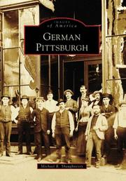 Cover of: German Pittsburgh (PA) | Michael R. Shaughnessy