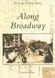 Cover of: Along Broadway (NY)