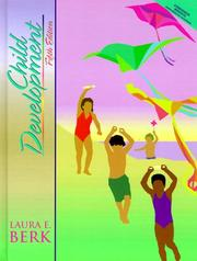 Cover of: Child development by Laura E. Berk