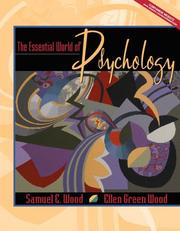 Cover of: The essential world of psychology