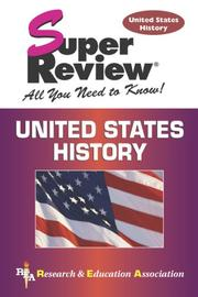 Cover of: U.S. History Super Review