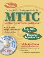 Cover of: MTTC w/ CD-ROM (REA) - Best Teachers