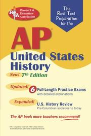Cover of: AP United States History (REA) - The Best Test Prep for the AP Exam: 7th Edition