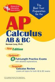 Cover of: AP Calculus AB/BC (REA)- The Best Test Prep for