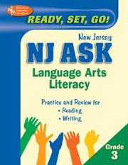 Cover of: NJ ASK Language Arts Literacy Grade 3  (REA) - Ready, Set, Go! New Jersey ASK, Grade 3, English Lan | Research and Education Association