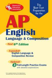 Cover of: AP English Language (REA) The Best Test Prep for: 6th Edition (REA Test Preps) |