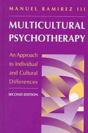 Cover of: Multicultural Psychotherapy