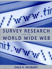 Cover of: Survey Research and the World Wide Web