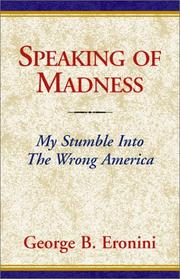 Cover of: Speaking of Madness