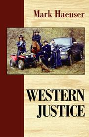 Cover of: Western Justice | Mark Haeuser