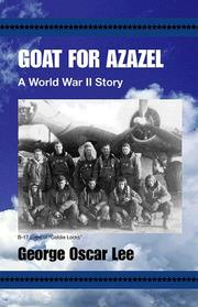 Cover of: Goat For Azazel | George Lee