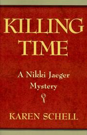 Cover of: Killing Time (Nikki Jaeger Mysteries)