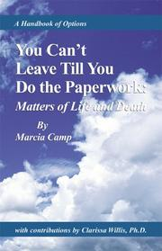 Cover of: You can