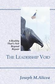 Cover of: The Leadership Void | Joseph M. Alicea