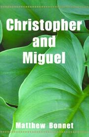 Cover of: Christopher and Miguel
