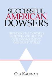 Cover of: Successful American Dowsers