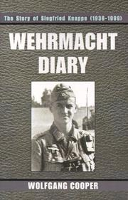Cover of: Wehrmacht Diary