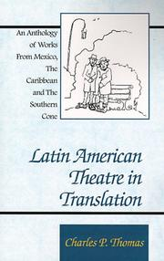 Cover of: Latin American theatre in translation |