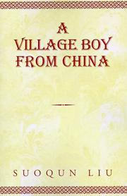 Cover of: A Village Boy From China