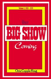 Cover of: Only Big Show Coming