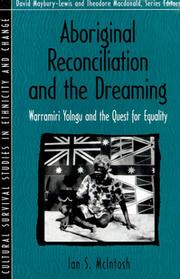Cover of: Aboriginal Reconciliation and the Dreaming