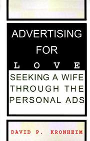 Cover of: Advertising for Love