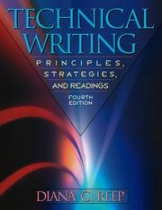 Cover of: Technical writing | Diana C. Reep