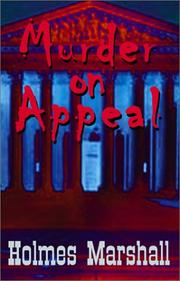 Cover of: Murder on Appeal
