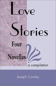 Cover of: Love stories | Joseph Cowley