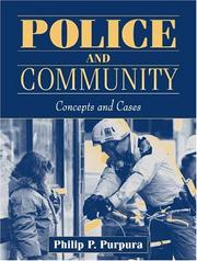 Cover of: Police and Community