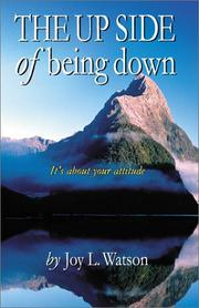 Cover of: The UP SIDE of Being Down