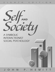 Cover of: Self and society | Hewitt, John P.