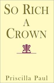 Cover of: So Rich a Crown