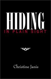 Cover of: Hiding in Plain Sight