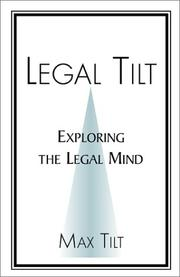 Cover of: Legal Tilt