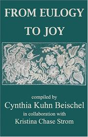 Cover of: From Eulogy to Joy |