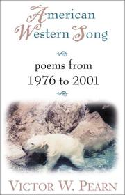 Cover of: American Western Song