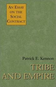 Cover of: Tribe and Empire | Patrick E. Kennon