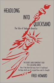Cover of: Headlong into quicksand | Howard, Fred