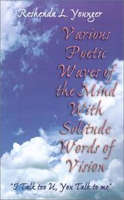 Cover of: Various Poetic Waves of the Mind with Solitude Words of Vision