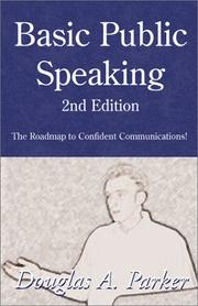 Cover of: Basic Public Speaking