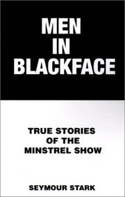 Cover of: Men in blackface | Seymour Stark