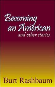 Cover of: Becoming an American