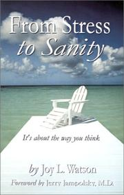 Cover of: From Stress to Sanity