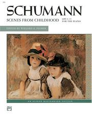 Cover of: Scenes From Childhood (Alfred Masterwork Edition) |