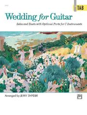 Cover of: Wedding for Guitar in Tab