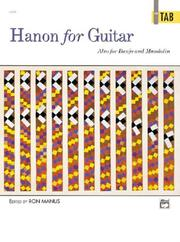 Cover of: Hanon for Guitar in Tab