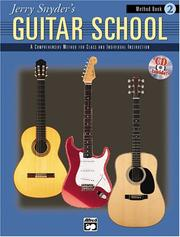Cover of: Jerry Snyder's Guitar School, Method Book 2